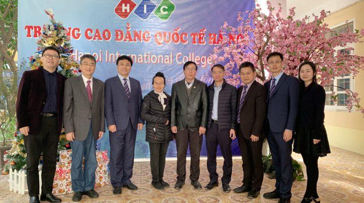 Đoàn lãnh đạo Học Viện Trung Sơn - CHDCND Trung Hoa đến thăm và làm việc với Nhà trường ngày tháng 12 năm 2019