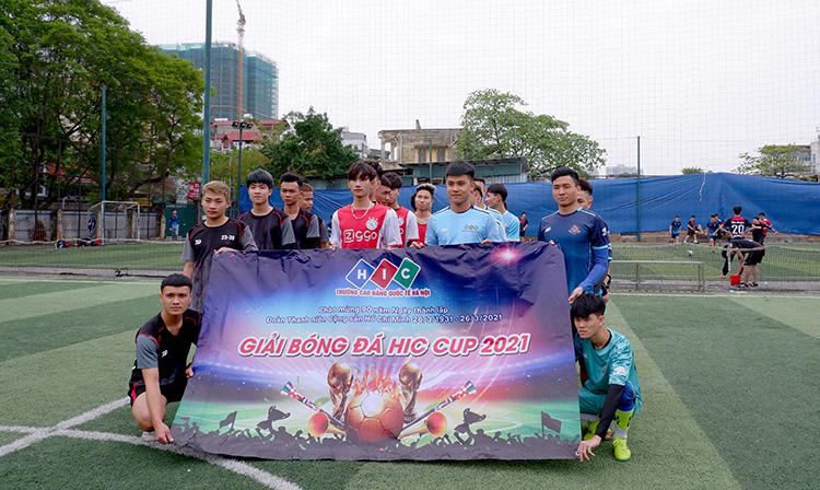 Khai mạc Giải bóng đá mini HIC CUP – Chào mừng ngày 26/03