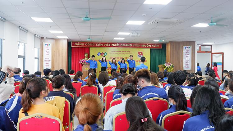 Tuổi trẻ HIC sôi nổi – nhiệt huyết chào mừng 90 năm thành lập Đoàn TNCS HCM