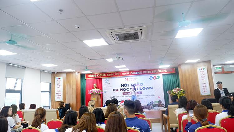 Trường Cao đẳng Quốc tế Hà Nội tổ chức chương trình Hội thảo du học, trao đổi sinh viên tại Đài Loan