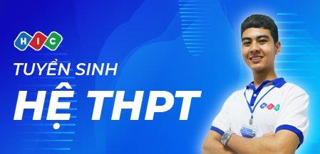 Tuyển sinh hệ THPT