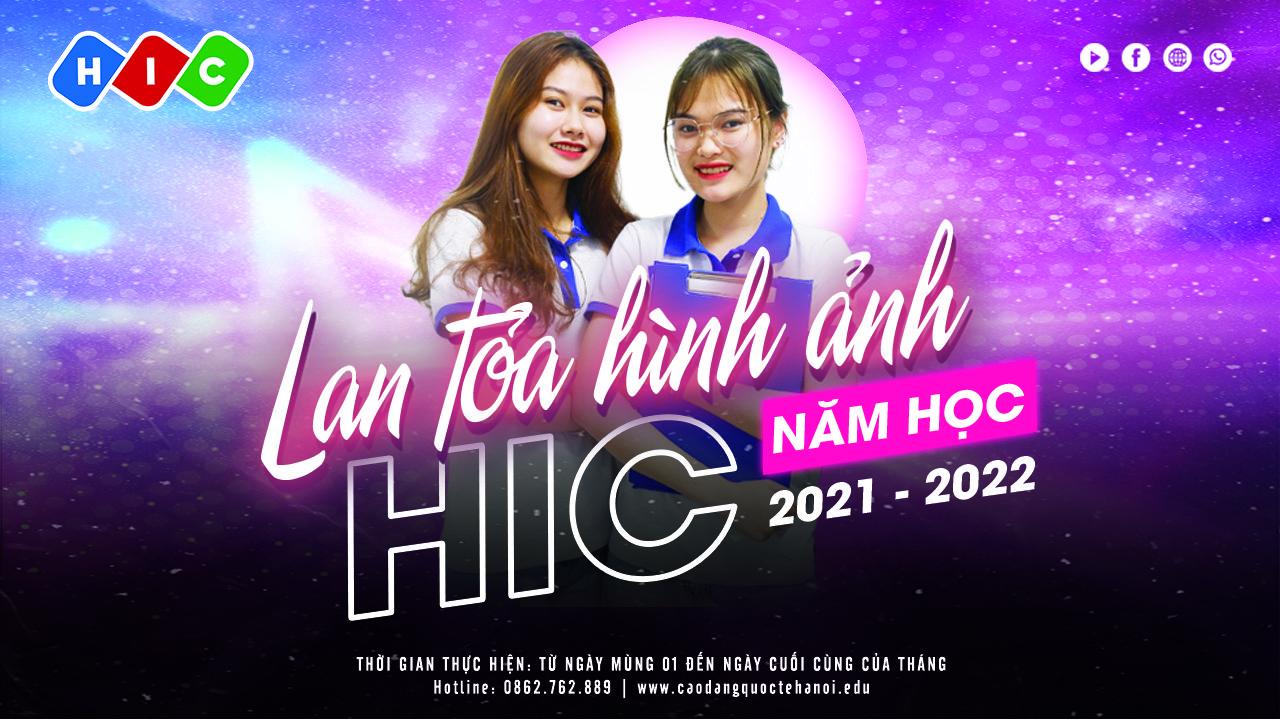 """Phát động phong trào """"Duy trì việc lan tỏa hình ảnh, thương hiệu của HIC năm học 2021 – 2022"""""""