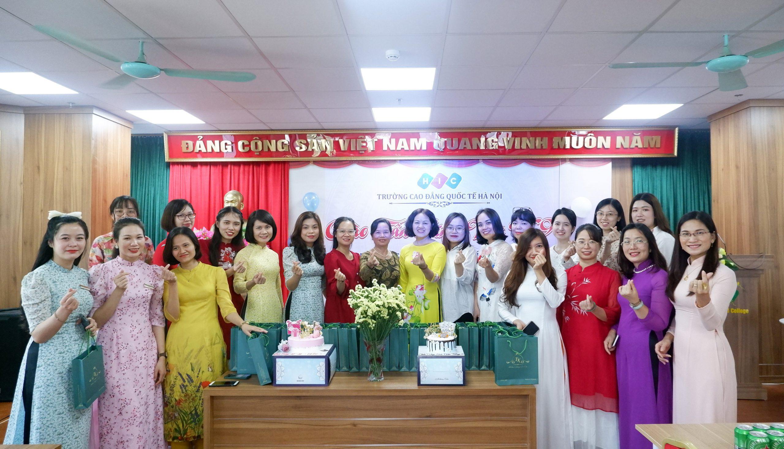 Trường Cao đẳng Quốc tế Hà Nội: Chào mừng kỷ niệm 91 năm ngày thành lập Hội Liên hiệp phụ nữ Việt Nam 20/10